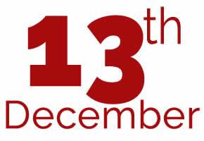 13th of December