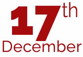 17th of December
