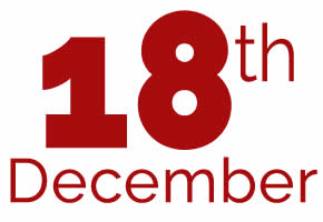 18th of December