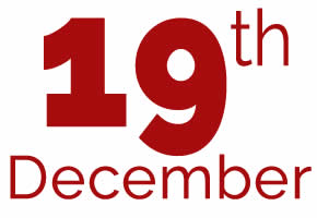 19th of December