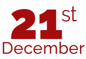 21st of December