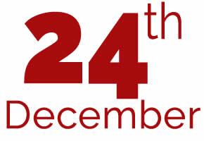24th of December
