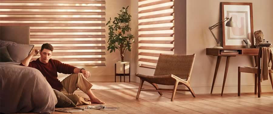 Feel Light Transformed with Hunter Douglas Window Treatments