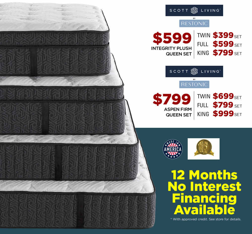 Restonic Black Friday Mattress Sale