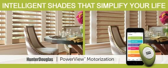 Hunter Douglas Powerview Blinds and Shades