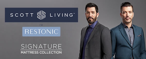 Scott Living Mattresses by Restonic