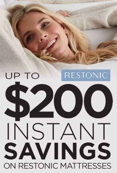 Instant Rebate Mattress Sale