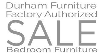 Durham Bedroom Furniture Sale